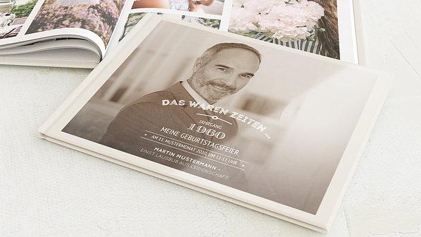 Fotobuch Geburtstag - Alte Zeiten 60
