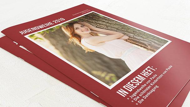 Festzeitung Jugendweihe - Magazin