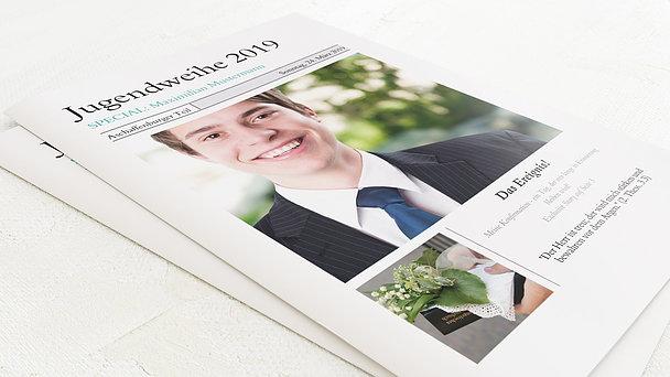 Festzeitung Jugendweihe - Zeitung