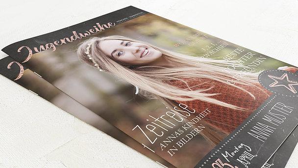 Festzeitung Jugendweihe - Ankündigung Festschrift