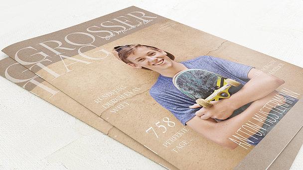 Festzeitung Jugendweihe - Rustique Festschrift