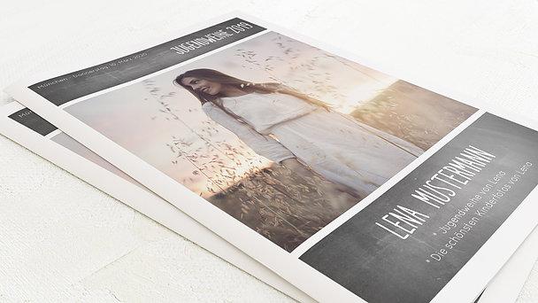 Festzeitung Jugendweihe - Getäfelt Festschrift