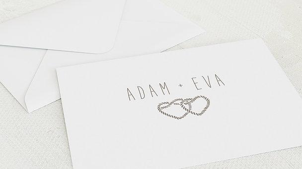 Umschlag mit Design Hochzeit - Liebesknoten
