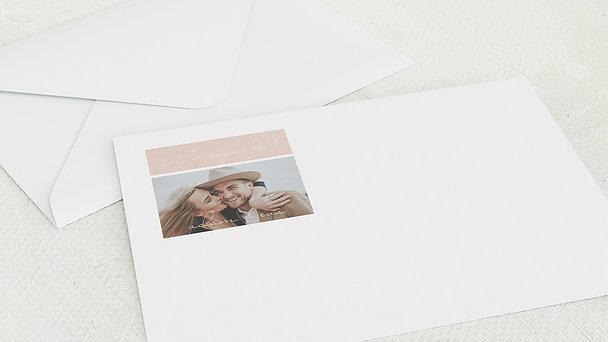 Umschlag mit Design Hochzeit - Sinnesrauschen