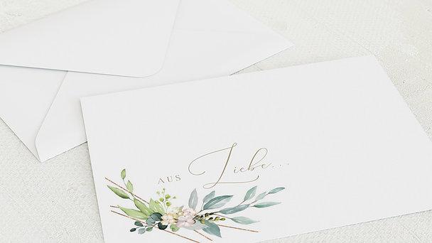 Umschlag mit Design Hochzeit - Tender Florals