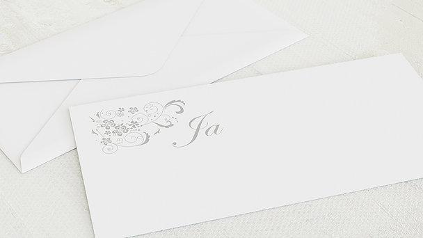 Umschlag mit Design Hochzeit - Garten der Träume