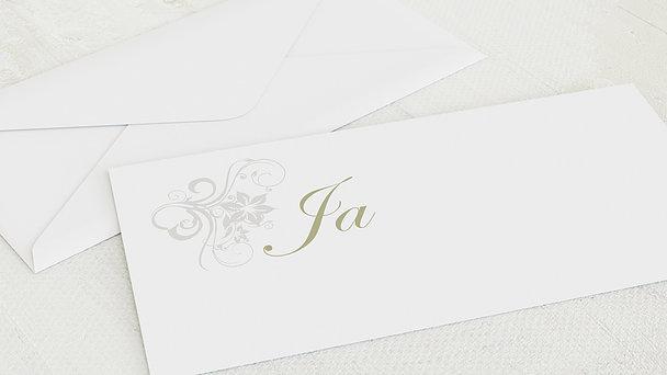 Umschlag mit Design Hochzeit - Weiße Hochzeit