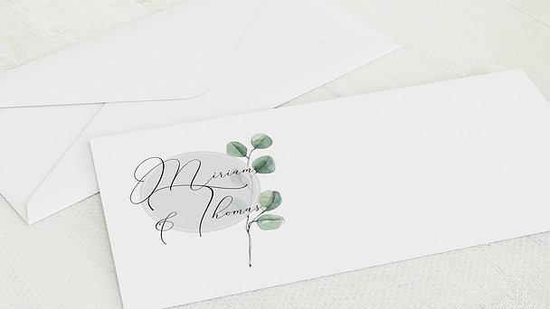 Umschlag mit Design Hochzeit - Love bubble