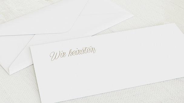 Umschlag mit Design Hochzeit - Zauberlicht