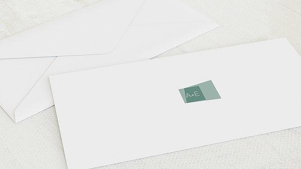Umschlag mit Design Hochzeit - Himmelwärts