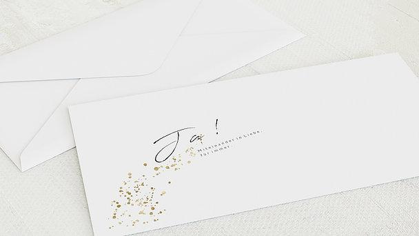 Umschlag mit Design Hochzeit - Freudensprenkel