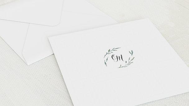 Umschlag mit Design Hochzeit - Feenwald