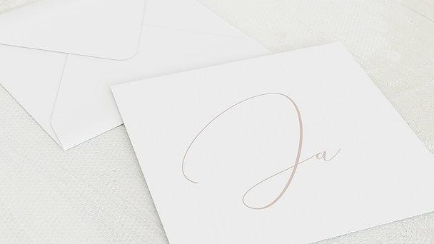 Umschlag mit Design Hochzeit - Spuren am Himmel
