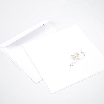 Umschlag mit Design Hochzeit - Leichtigkeit