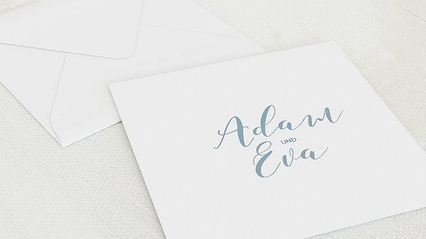 Umschlag mit Design Hochzeit - Nur wir zwei