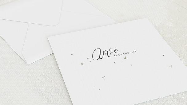 Umschlag mit Design Hochzeit - Zauberranke