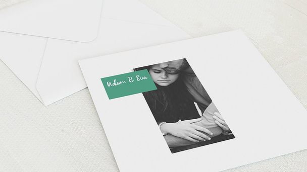 Umschlag mit Design Hochzeit - Trau Dich