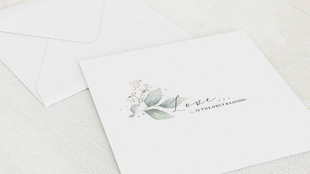 Umschlag mit Design Hochzeit - Traumbouquet