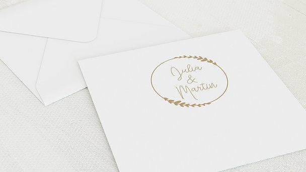 Umschlag mit Design Hochzeit - Freudenfunkeln