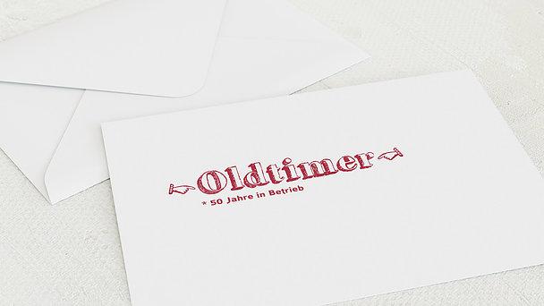 Umschlag mit Design Geburtstag - Oldie but Goldie