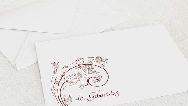 Umschlag mit Design Geburtstag - Card de Luxe