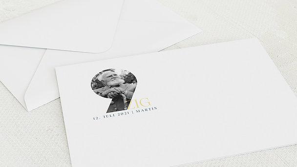 Umschlag mit Design Geburtstag - Jubilar 90