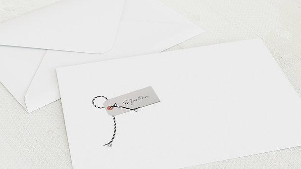 Umschlag mit Design Geburtstag - Filmstreifen 50