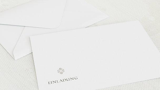 Umschlag mit Design Geburtstag - Tüpfelchen