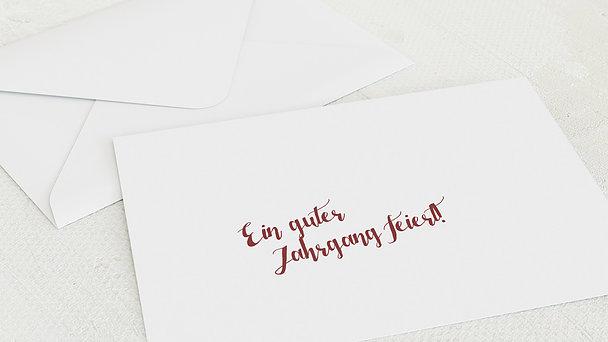 Umschlag mit Design Geburtstag - Guter Jahrgang 70