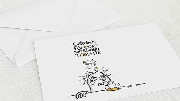 Umschlag mit Design Geburtstag - Hangover 60