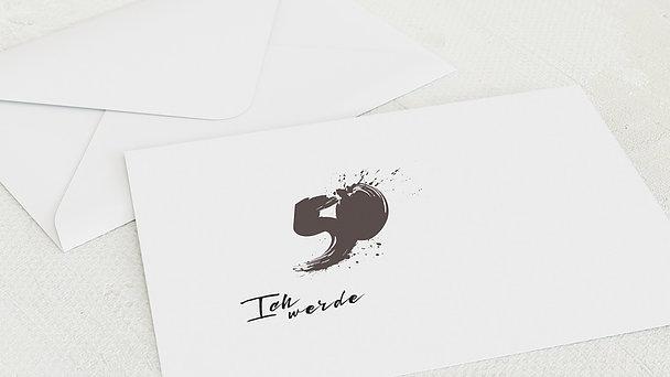 Umschlag mit Design Geburtstag - Energie
