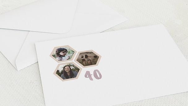 Umschlag mit Design Geburtstag - Bee-Day 40