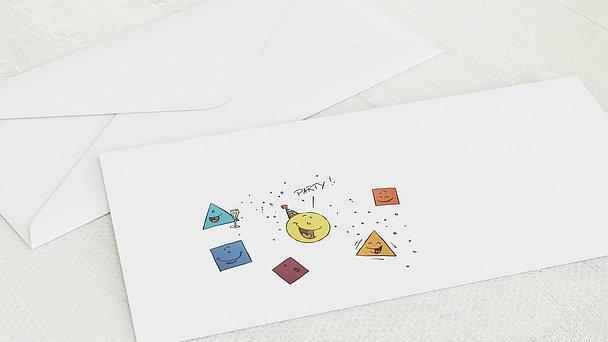 Umschlag mit Design Geburtstag - Runder Geburtstag