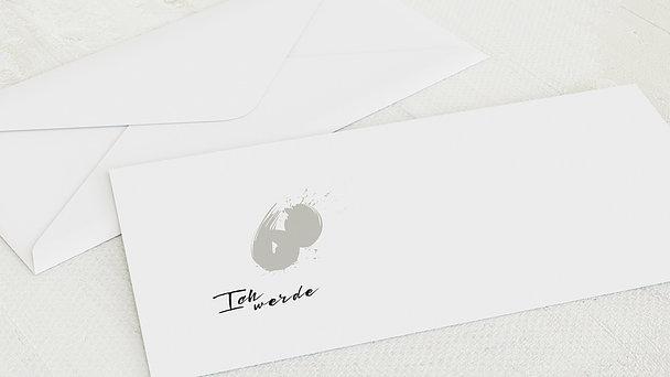 Umschlag mit Design Geburtstag - Energie 60