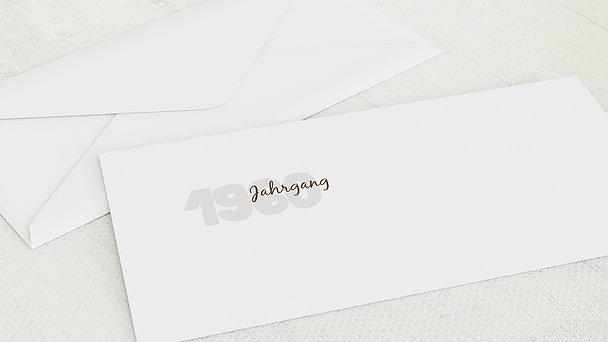 Umschlag mit Design Geburtstag - Jahrgang 1960