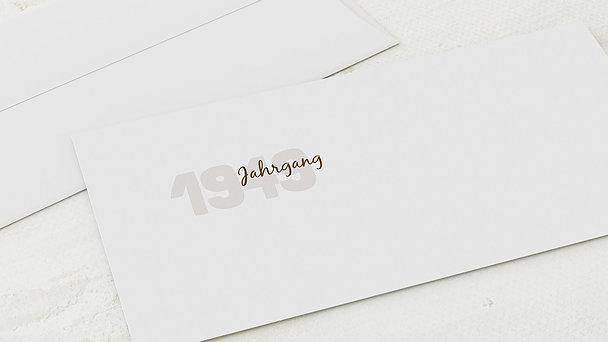 Umschlag mit Design Geburtstag - Jahrgang 1949