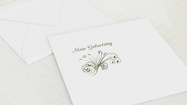 Umschlag mit Design Geburtstag - Feuerwerk