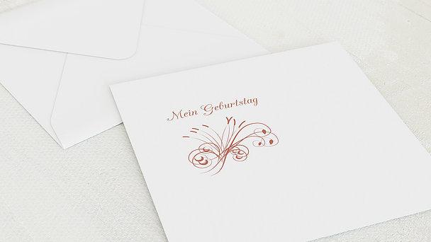Umschlag mit Design Geburtstag - Feuerwerk 90