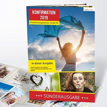 Festzeitung Konfirmation - Gossip