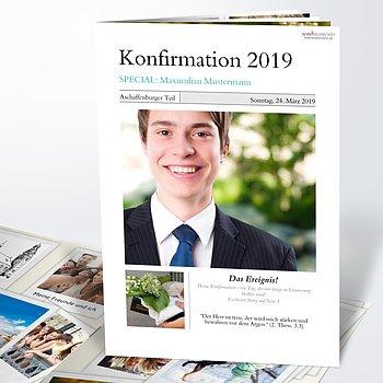 Festzeitung Konfirmation - Zeitung