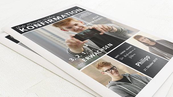 Festzeitung Konfirmation - Gekachelt Festschrift