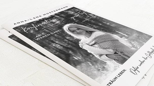 Festzeitung Konfirmation - Best Times Festschrift