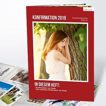 Festzeitung Konfirmation - Magazin