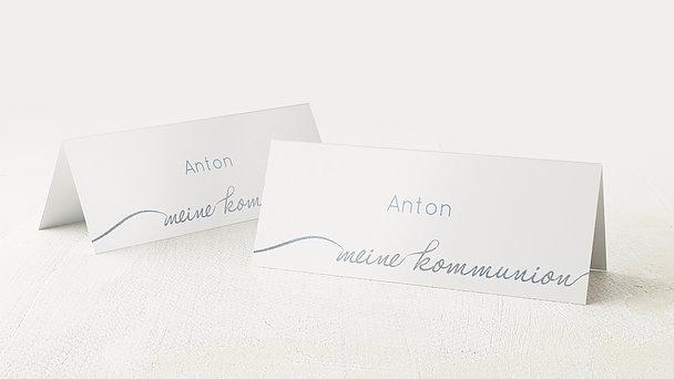 Tischkarten Kommunion - Glanzvolle Kommunion