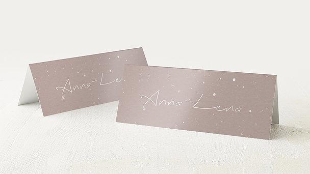 Tischkarten Konfirmation - Milky Way