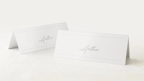 Tischkarten Konfirmation - Konfirmationswimpel