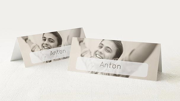 Tischkarten Jugendweihe - Transparent Jugendweihe