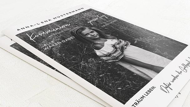 Festzeitung Kommunion - Best Times Festschrift