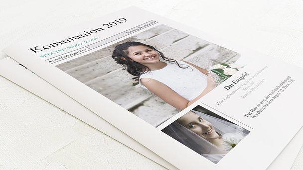Festzeitung Kommunion - Zeitung