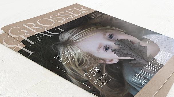 Festzeitung Kommunion - Rustique Festschrift